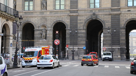 Machete-wielding man attacks security personnel at Louvre, terrorism suspected (PHOTOS)