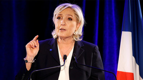 Marine Le Pen, French National Front (FN) political party leader. © Jacky Naegelen