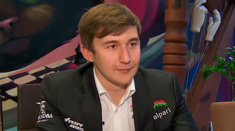 'My main goal is to be chess world champion': Sergey Karjakin to RT