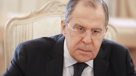 Russian Foreign Minister Sergei Lavrov © Vitaliy Belousov