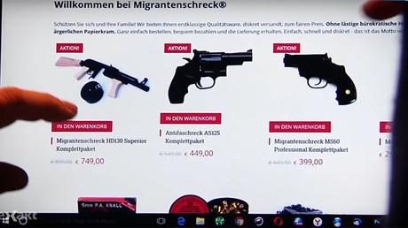 'Migrant horror' website selling illegal weapons to Germans goes offline, owner flees