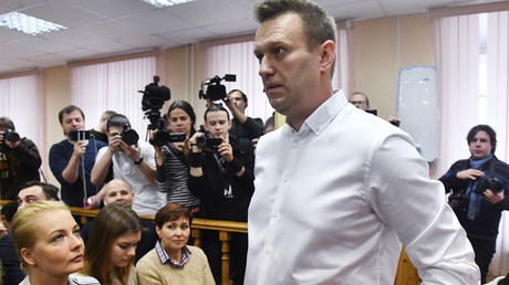 Court announces verdict for Aleksey Navalny © Alexey Kudenko