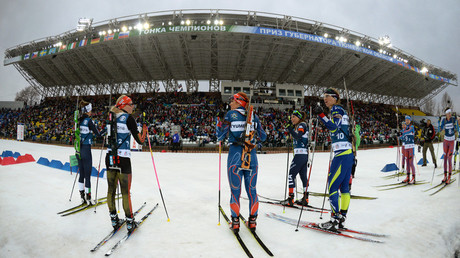 The Tyumen Region Governor Prize international biathlon and cross-country skiing competition © Eugeny Tumashov