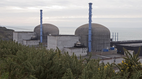 FILE PHOTO General view of the operating nuclear power plant in Flamanville, north-western France © Charles Platiau