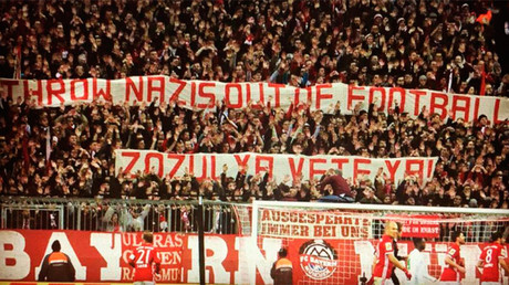 'Throw Nazis out of football': Bayern Munich FC fans protest Ukrainian international Zozulya