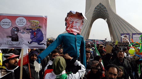 'Death to America': Thousands rally in Iran celebrating Islamic Revolution (PHOTOS, VIDEO)