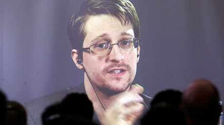 Edward Snowden © Marcos Brindicci/File Photo