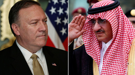 CIA awards Saudi prince medal for anti-terror efforts