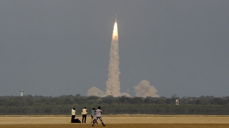 India to set record with 104 satellites launched aboard single rocket