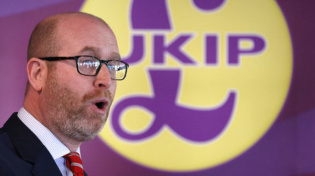 UKIP leader and Stoke Central by-election candidate Paul Nuttall. © Darren Staples