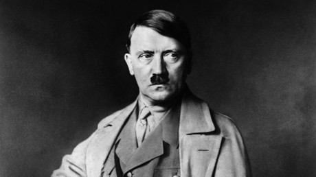 An undated portrait of German Nazi Chancellor Adolf Hitler © HEINRICH HOFFMANN