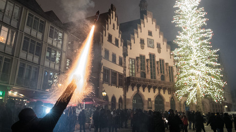 'Mass sex assaults' by refugees in Frankfurt on New Year's Eve were made up – police