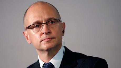 Sergey Kirienko, Deputy Head of Russia's Presidential Administration © Benoit Tessier