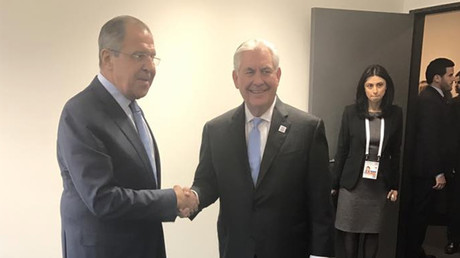 'Productive' 1st meeting: Lavrov & Tillerson discuss Syria & Ukraine, but not sanctions