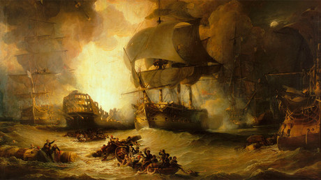 Battle of the Nile © wikipedia.org