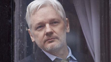 WikiLeaks founder Julian Assange. © Niklas Halle'n