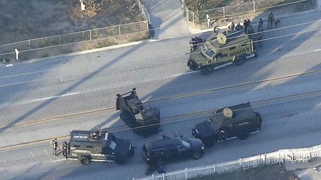 San Bernardino gunman was pastor, Navy vet with record of violence