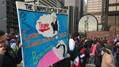 'Day Without Immigrants' strike and marches sweep US