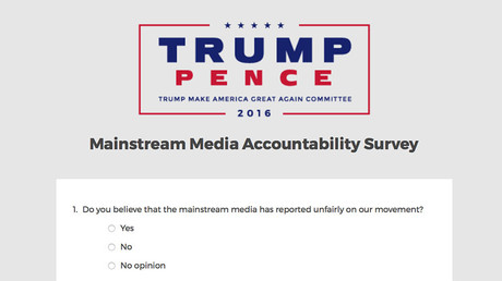 Tensions between Trump & media 'unhealthy,' restrict news access – poll