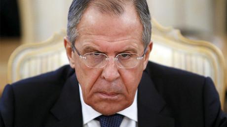 Russia's Foreign Minister Sergei Lavrov © Sergei Karpukhin