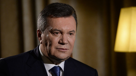 Kiev's military op in E. Ukraine 'crime against own people' – ex-Ukrainian President Yanukovich