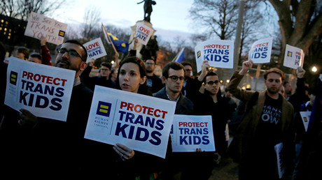 Protests erupt after Trump ends federal bathroom protections for transgender students