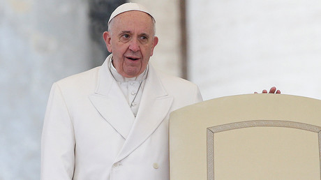 'Better to be an atheist': Pope Francis takes aim at 'hypocritical Catholics'