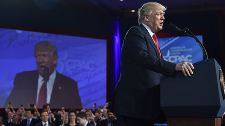 'Fake news, military budget, trade deals': Trump speaks at CPAC