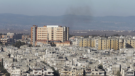 FILE PHOTO: A general view on the Syrian city of Homs. © Omar Sanadiki