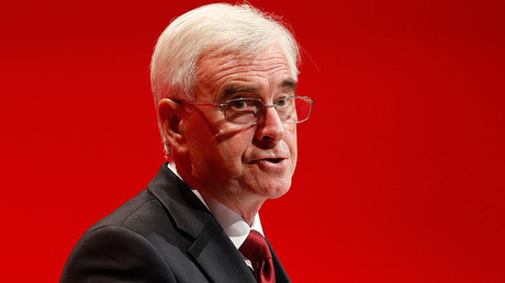 Britain's shadow Chancellor of the Exchequer, John McDonnell © Darren Staples
