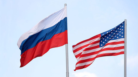 The Russian and American flags © mashabuba / Getty Images