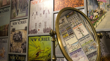 New Yorker cover pages ©  Robert Gauthier / Los Angeles Times via Getty Images