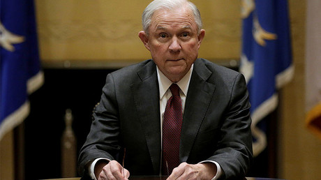 U.S. Attorney General Jeff Sessions © Yuri Gripas
