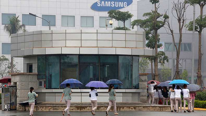 Mass brawl breaks out at Samsung plant in Vietnam (VIDEO)