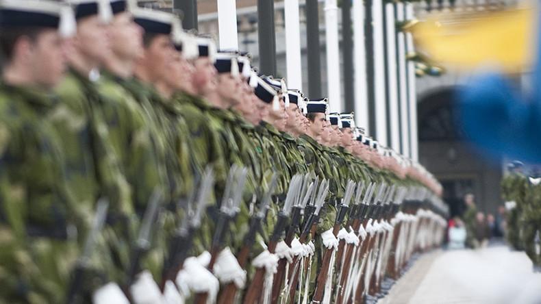 Sweden brings back military conscription for men & women