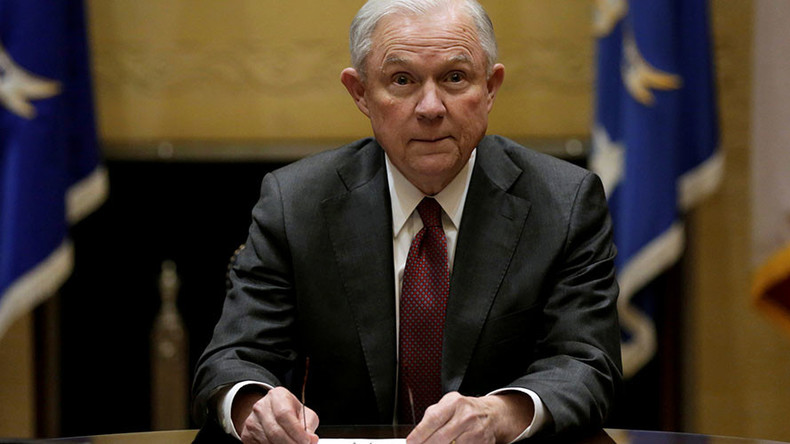 Sessions recuses himself from Trump probes, rejects perjury claims