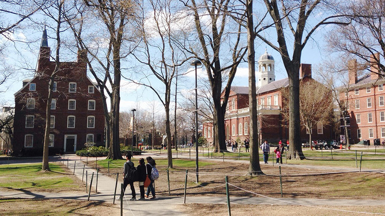 'Big temptation for theft in Harvard Uni due to lack of control'