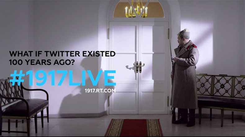 #1917LIVE: Be part of revolution on Twitter & write your own history with #1917CROWD hashtag
