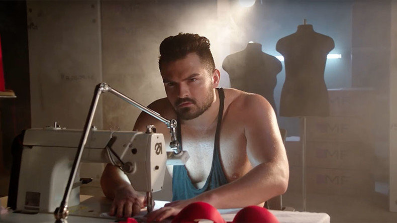 Sweaty hunks make women's undies in racy ad… & internet loves it (VIDEO)