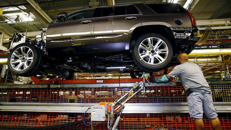 GM to lay off 1,100 workers in Michigan & shift production to Tennessee