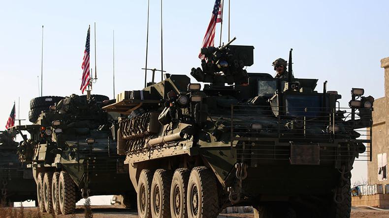 US deploys force in Manbij as 'visible sign of deterrence' - Pentagon