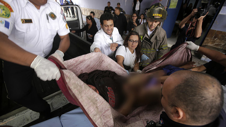 19 dead, 25 injured in fire at Guatemalan orphanage