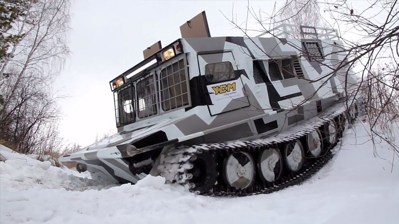 Siberian monster truck: New all-terrain vehicle tested near Chelyabinsk (VIDEO)