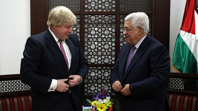 Boris Johnson in Israel: 'Alternative to 2-state solution is apartheid'