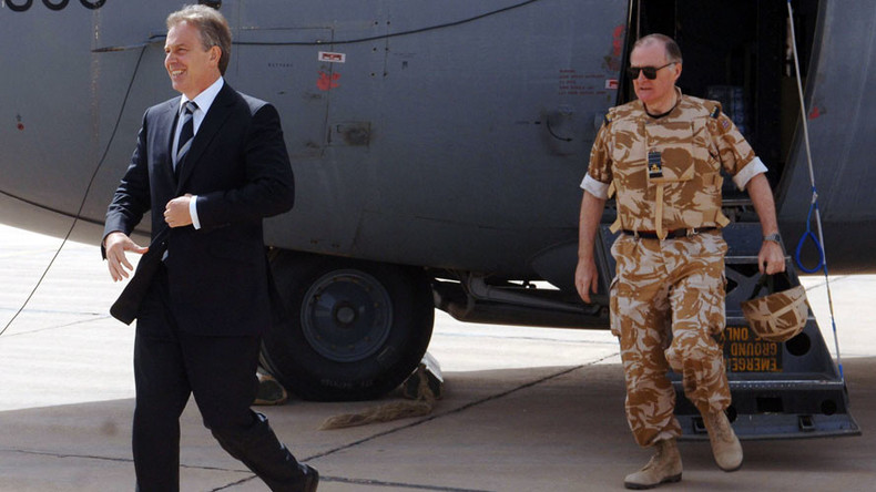 Tony Blair's arrival at Iraq-Afghanistan war memorial sparks backlash