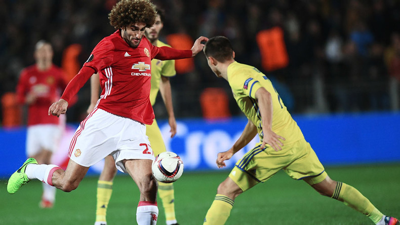 Rostov 1-1 Man United - Europa League 1st leg all square in Russia