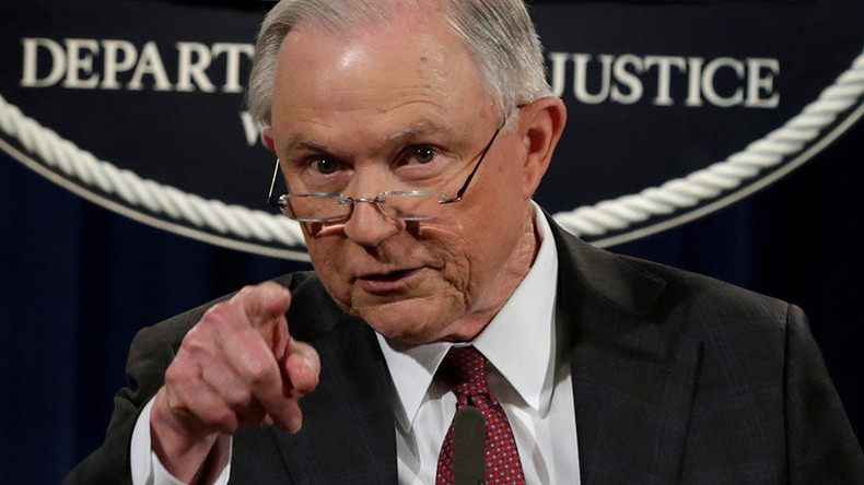 Image result for sessions doj