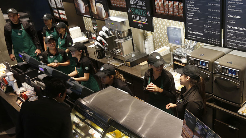 Plan to hire refugees damaging Starbucks' brand and sales - Credit Suisse