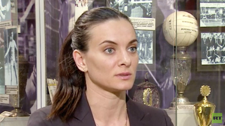 'I'll do my best to combat this evil' – Isinbayeva to RT on anti-doping fight