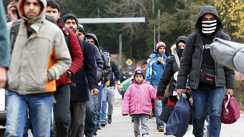 Merkel let in refugees 'to avoid border clashes that would look bad on TV,' claims insider book